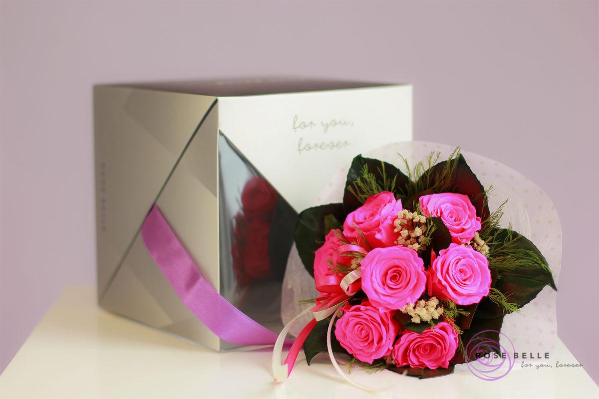 Bukiet kwiatów na urodziny od Rose Belle