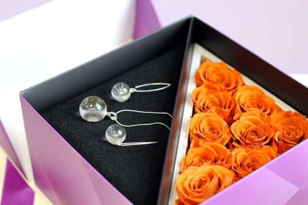 Artystyczna biżuteria Rose Belle w Gift Boxie