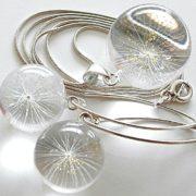 Komplet biżuterii artystycznej Rose Belle