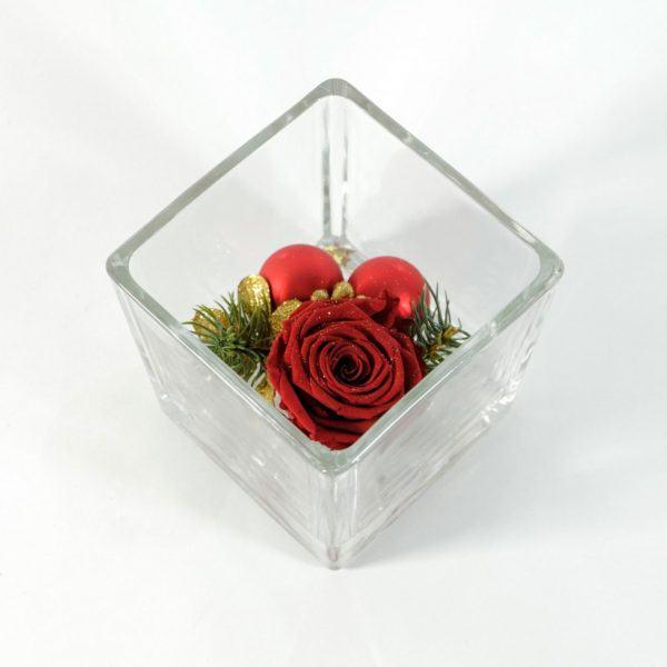 kompozycje z kwiatów rose belle